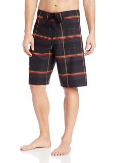 Billabong mens Serious Boardshorts Casual Dress Black/Red  US