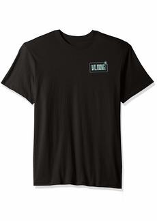 Billabong Men's Graphic T-Shirts Seven seas Black S