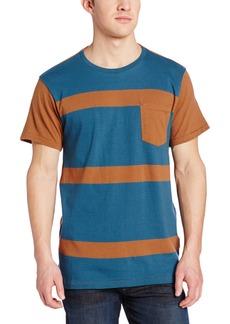 Billabong Men's Big and Tall Shot Off Short Sleeve Crew Knit Shirt  2XL