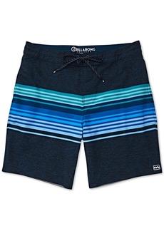 """Billabong Men's Spinner Striped 19"""" Swim Trunks"""