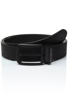 Billabong Men's Split Reversible Belt BLACK L