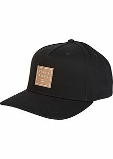 Billabong Men's Stacked Snapback Hat  One