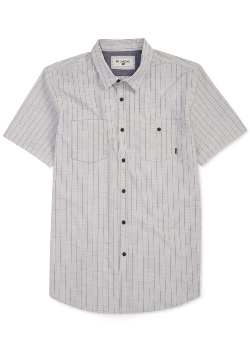 Billabong Men's Static Stripe Short-Sleeve Shirt