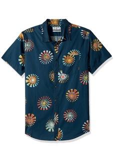 Billabong Men's Sunday Floral Short Sleeve Shirt  M