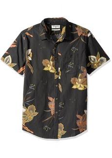 Billabong Men's Sunday Floral Short Sleeve Shirt  S