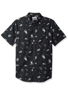 Billabong Men's Sunday Mini Short Sleeve Shirt  M