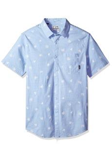 Billabong Men's Sunday Mini Short Sleeve Shirt  XL
