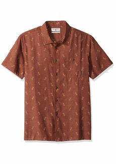 Billabong Men's Sundays Jacquard Short Sleeve Shirt  S