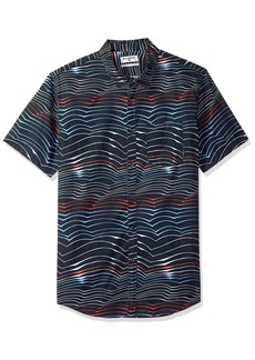 Billabong Men's Sundays Lines Short Sleeve Shirt  XL