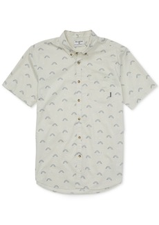 Billabong Men's Sundays Mini-Print Shirt