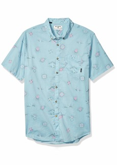 Billabong Men's Sundays Mini Short Sleeve Shirt  L