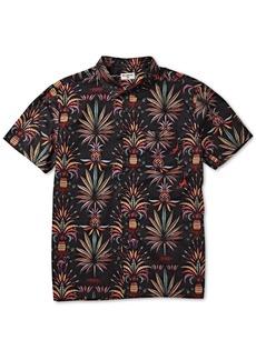 Billabong Men's Sundays Regular-Fit Tropical-Print Shirt