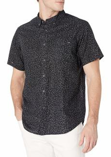 Billabong Men's Classic Sundays Woven Short Sleeve Shirt  M