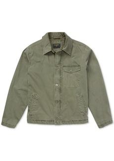 Billabong Men's Surfplus Barlow Fleece-Lined Twill Jacket