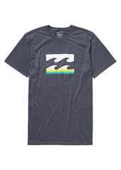 Billabong Men's Team Wave Spin Short Sleeve T-Shirt