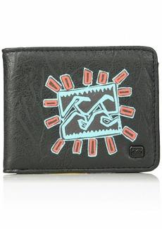 Billabong Men's Tides Wallet black/multi ONE