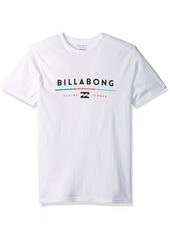 Billabong Men's Tri-Unity Short Sleeve Knit Crew T Shirt