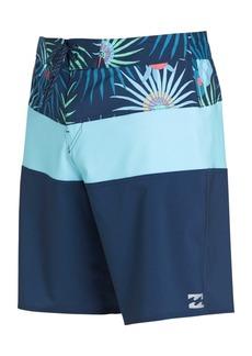 """Billabong Men's Tribong Colorblocked 20"""" Board Shorts"""