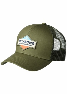 Billabong Men's Walled Adjustable Mesh Back Trucker Hat  1SZ