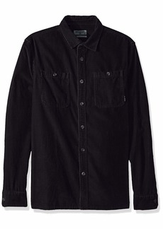Billabong Men's Wave Washed Cord Shirt  L