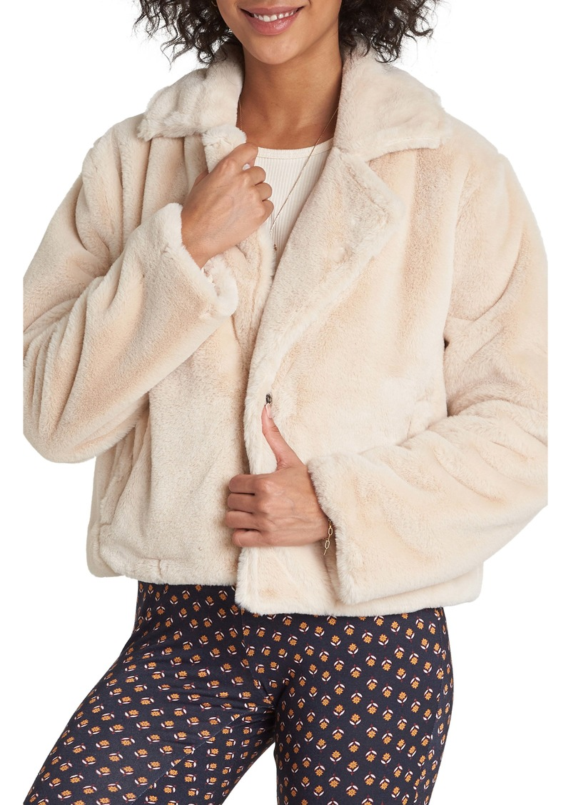 Billabong Moon Riser Faux Fur Jacket