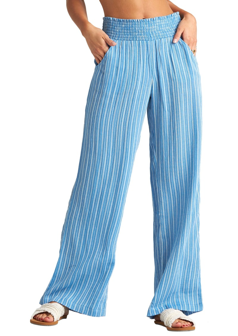 Billabong New Waves Stripe Wide Leg Pants