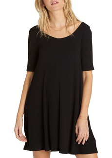 Billabong Nothing to Hide Ribbed T-Shirt Dress