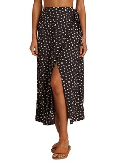 Billabong Ocean Air Wrap Tie Midi Skirt