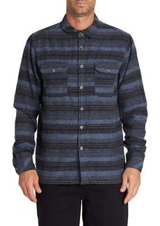 Billabong Offshore Stripe Flannel Button-Up Shirt