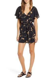 Billabong On The Run Drape Shoulder Romper