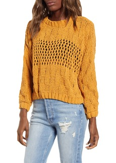 Billabong Onward We Go Chenille Sweater