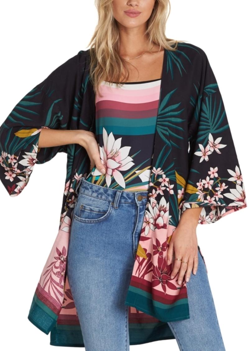 Billabong Paradise Palms Printed Kimono