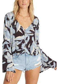 Billabong Pretty Daylight Bell Sleeve Top