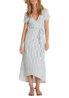 Billabong Right Side Wrap Midi Dress