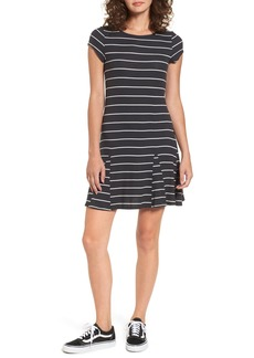 Billabong Rockin Down Stripe T-Shirt Dress