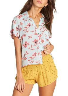 Billabong Roll Call Floral Print Shirt