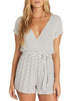 Billabong Romp Stop Stripe Surplice Romper