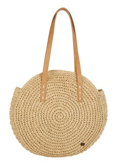 Billabong Round About Straw Tote