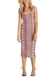 Billabong Share Joy Body-Con Midi Dress