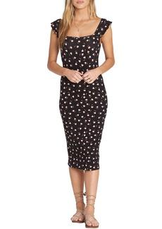 Billabong Share Love Body-Con Midi Dress