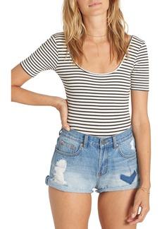 Billabong Summertime High Denim Shorts
