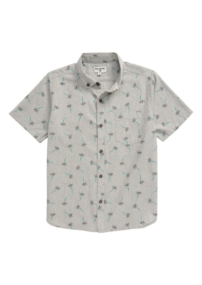 Billabong Sundays Button-Down Shirt (Big Boys)