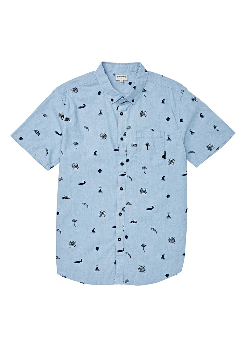 Billabong Sundays Button-Down Shirt (Little Boys)