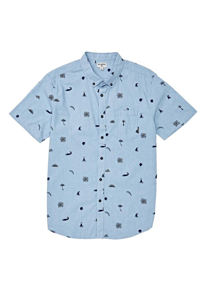 Billabong Sundays Button-Down Shirt (Little Boys)