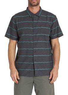 Billabong Sundays Jacquard Short Sleeve Shirt