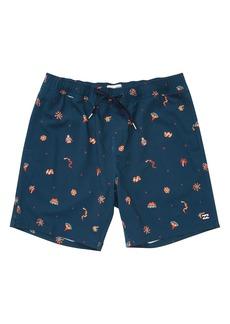 Billabong Sundays Layback Swim Trunks (Toddler Boys, Little Boys & Big Boys)