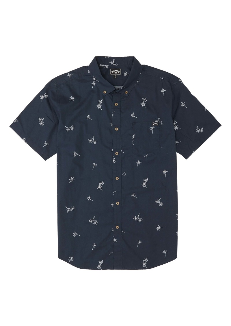 Billabong Sundays Short Sleeve Button-Down Shirt (Toddler Boys & Little Boys)