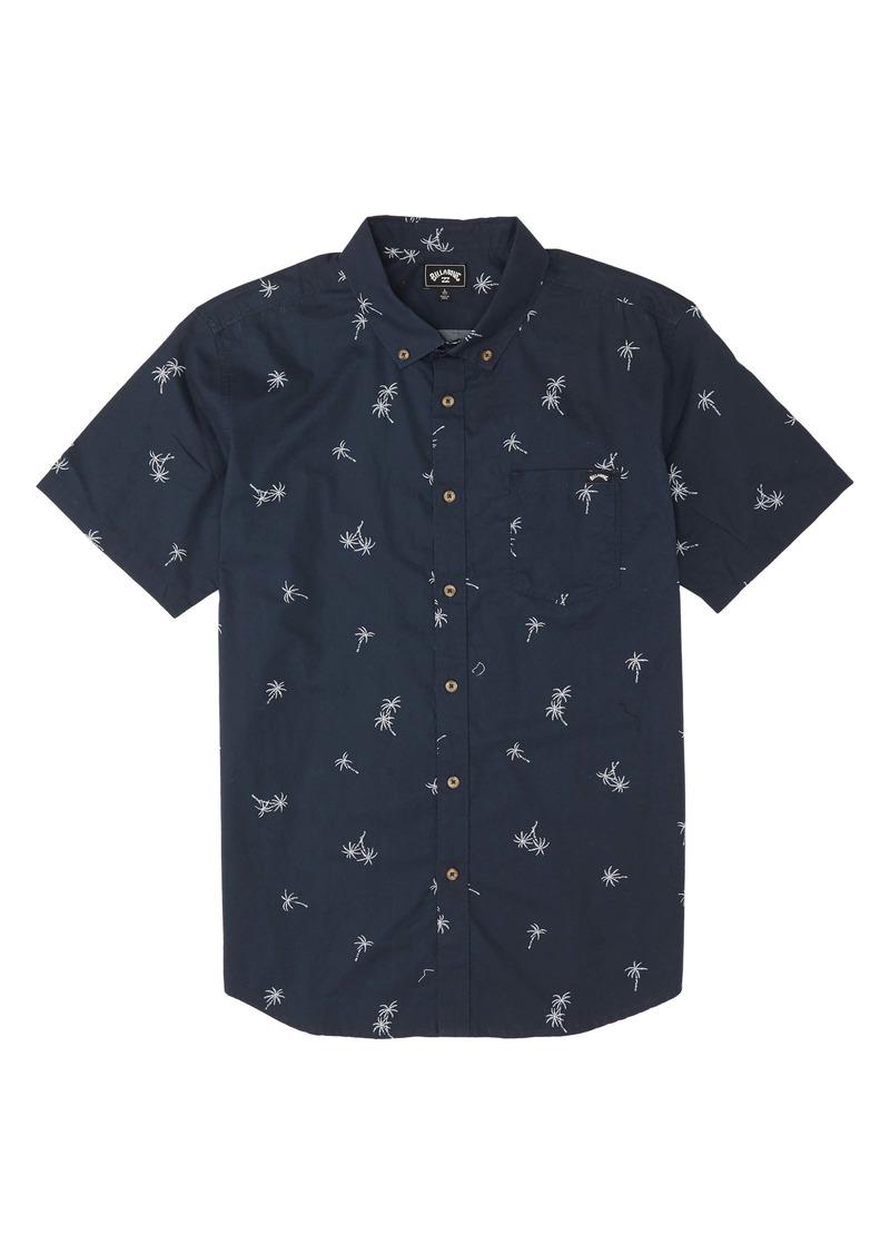 Billabong Sundays Short Sleeve Button-Down Shirt (Toddler Boys & Little Boys)