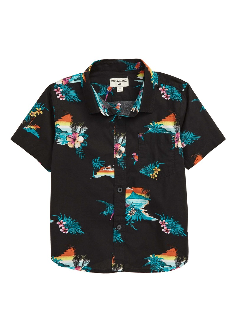 Billabong Sundays Woven Button-Up Shirt (Big Boys)