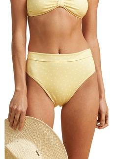 Billabong x The Salty Blonde Sundipped High Waist Bikini Bottoms